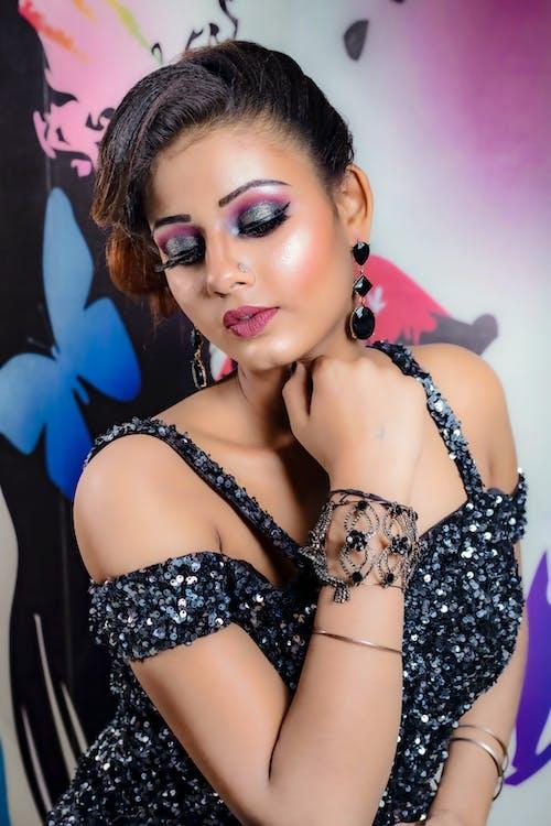 Free stock photo of delhi model, delhi photographer, eye makeup