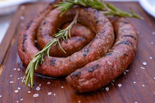 Close-Up Photo Of Sausage