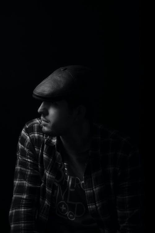 คลังภาพถ่ายฟรี ของ ขาวดำ, ภาพพอร์ตเทรต