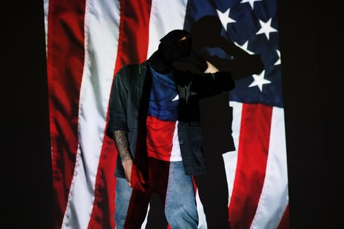 Foto d'estoc gratuïta de 4 de juliol, afroamericà, anònim, bandera