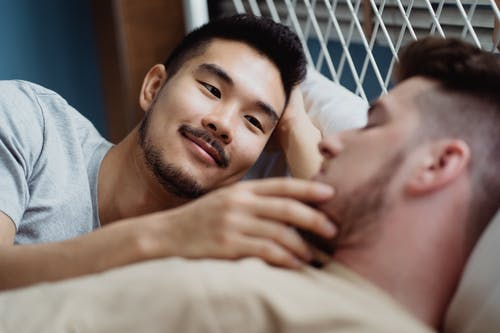 Photo Of A Male Couple In Love