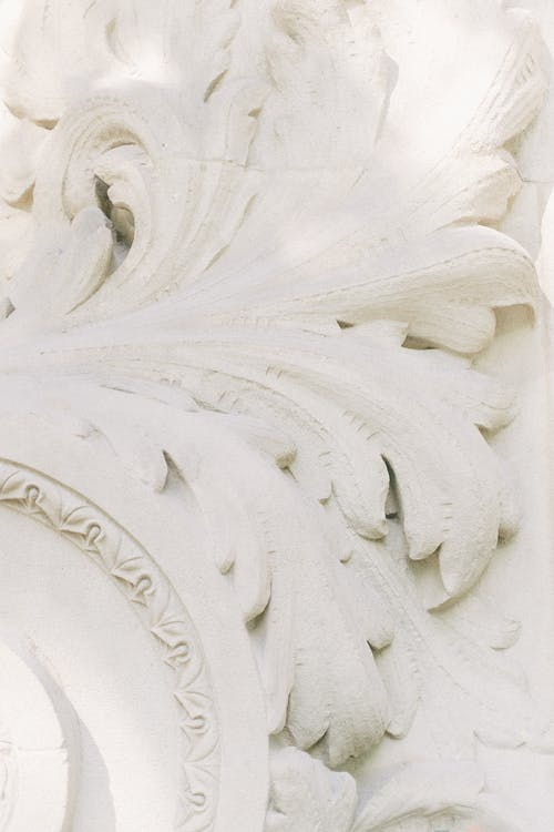 Gratis lagerfoto af bas relief, beton, blade
