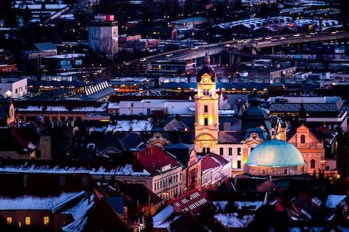 Free stock photo of cityscape, night view