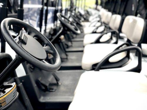 Free stock photo of golf cart