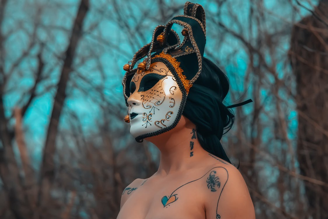 Photo Of Person Wearing Mask