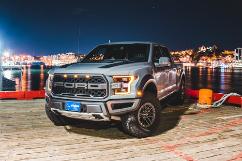 Photo Of Ford Truck On Dock