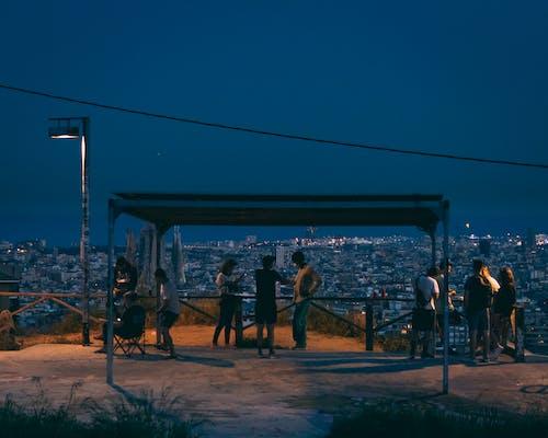 Free stock photo of barcelona, night, people