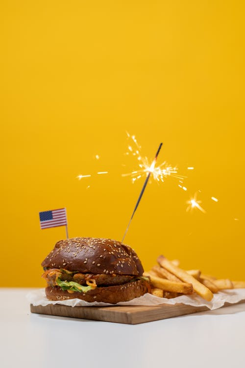 アメリカンフード, おいしい, ジャンクフードの無料の写真素材