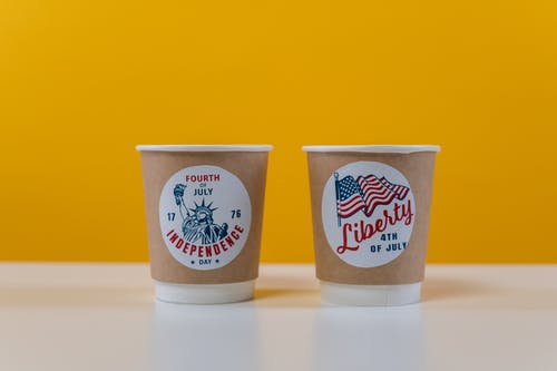 4th of July Paper Cups