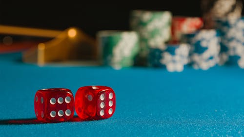 Free stock photo of casino, chips, dice
