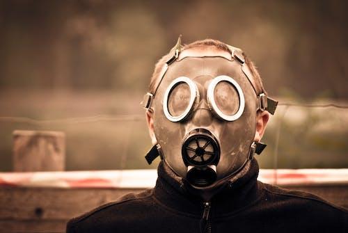 Foto d'estoc gratuïta de home, màscara, persona, primer pla