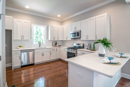 Photo of White Kitchen