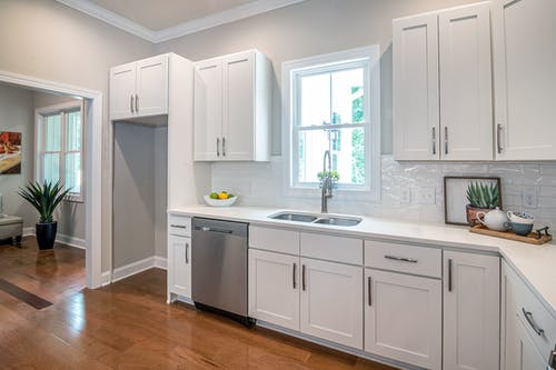 Photo of White Kitchen Counter