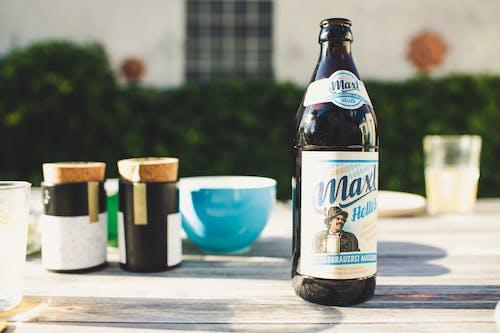 Gratis stockfoto met alcohol, alcohol fles, ambachtelijk bier, barbecue