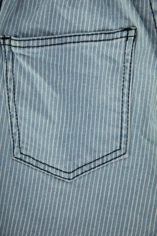 Blue and White Plaid Textile