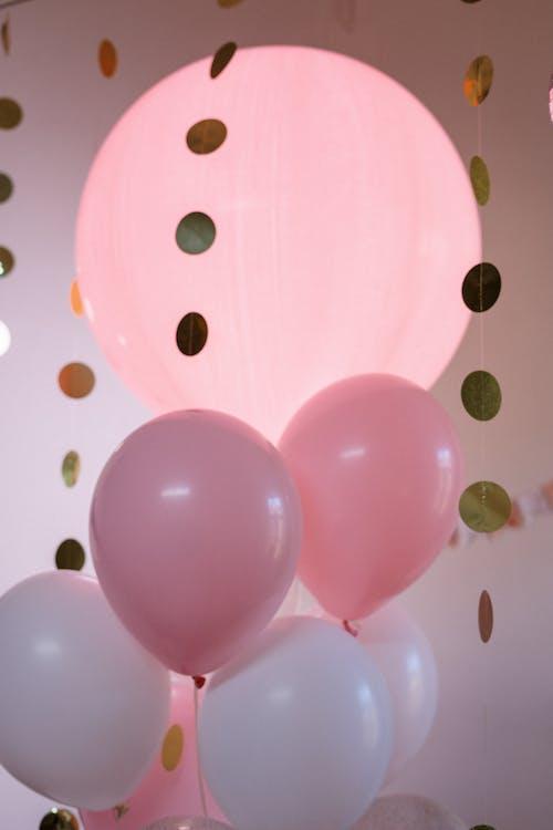 Kostenloses Stock Foto zu alles gute zum geburtstag, ballons, dekoration