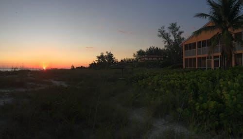 Free stock photo of beach sunset, florida, sunset