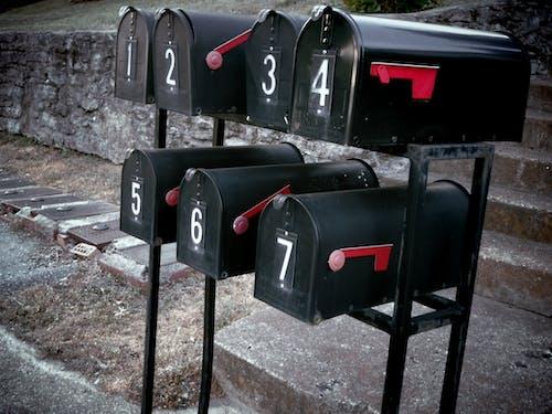 Free stock photo of mailbox