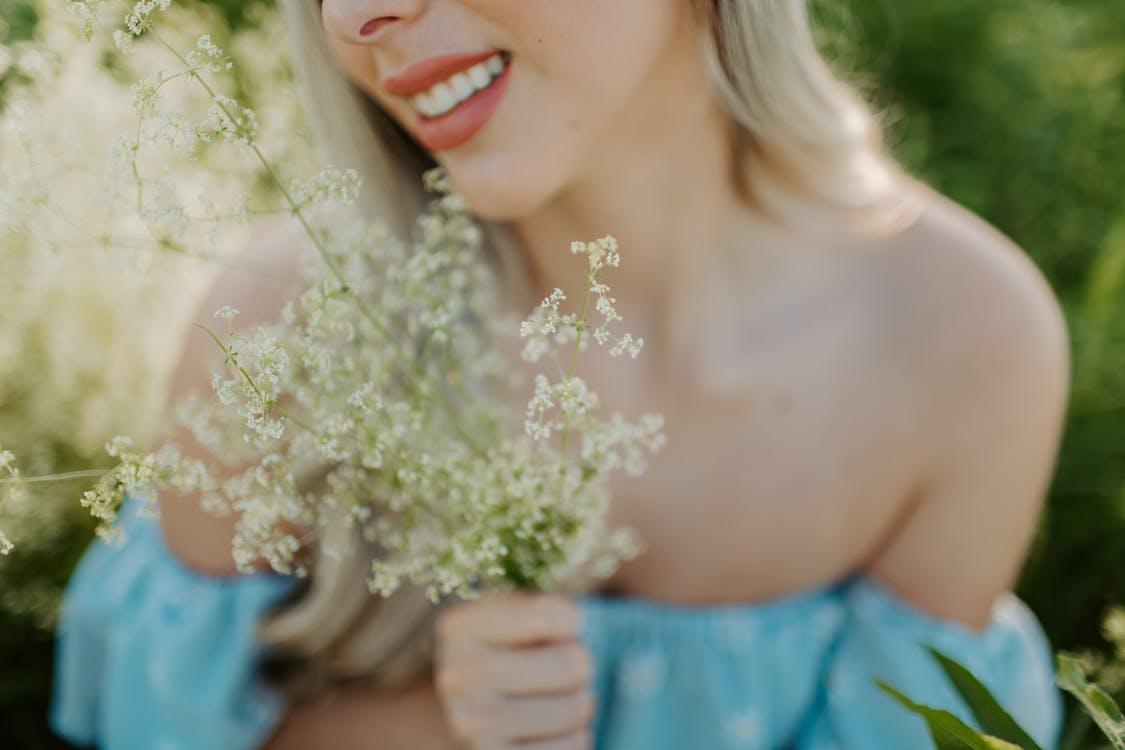 Chân dung, cỏ, cô dâu