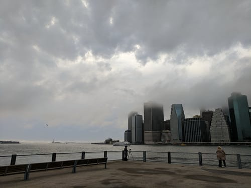 Free stock photo of clouds, cloudy day, cloudy sky, east river