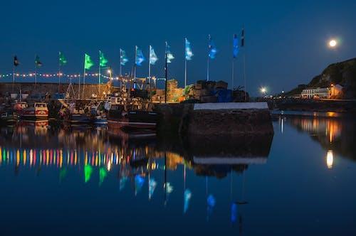 Gratis stockfoto met boten, cornish festival, cornish vissersdorp