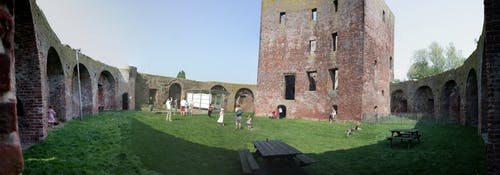 Foto stok gratis Belanda, Kastil, kastil teylingen, panorama