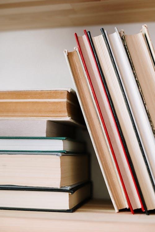 Základová fotografie zdarma na téma chytrý, detailní záběr, inteligence, knihkupectví