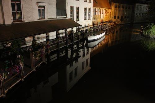 Imagine de stoc gratuită din apă, barcă, Belgia, brugges
