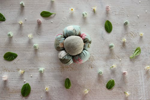 Free stock photo of artificial flowers, fabric, flowers