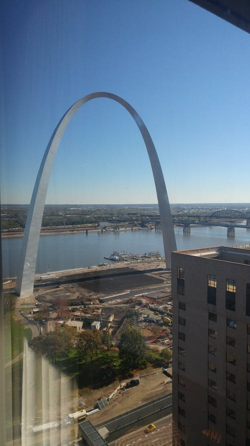 Gratis stockfoto met #stlouisgatewayarch