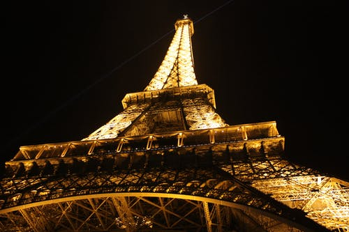 Low-angle Photography Eiffel Tower