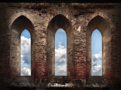 Free stock photo of Abbazio di San Galgano, church, church windows