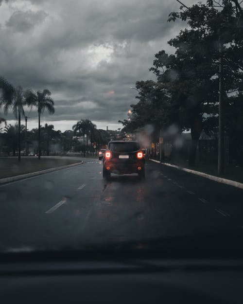 Photo of Black Car on Road