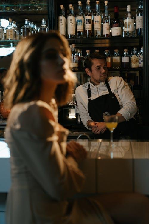 Man in White Dress Shirt Holding Wine Glass