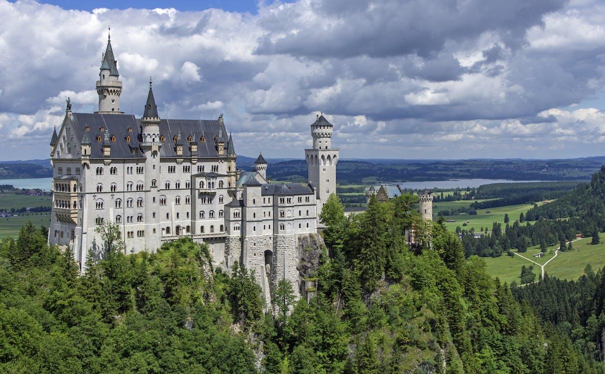 αρχιτεκτονική, Γερμανία, δέντρα