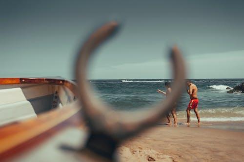 Free stock photo of beach, boat, day