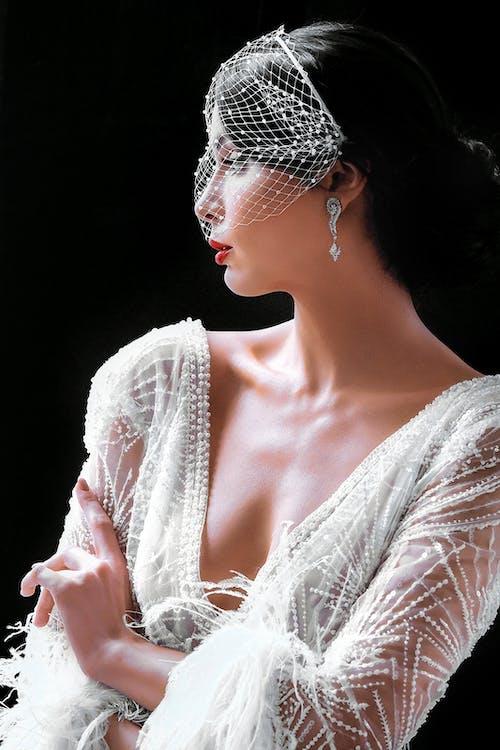 Ảnh lưu trữ miễn phí về ân sủng, áo choàng, biến cố, cô dâu