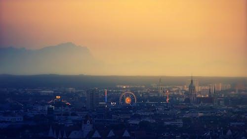 Foto stok gratis air, Arsitektur, asap, asap kabut