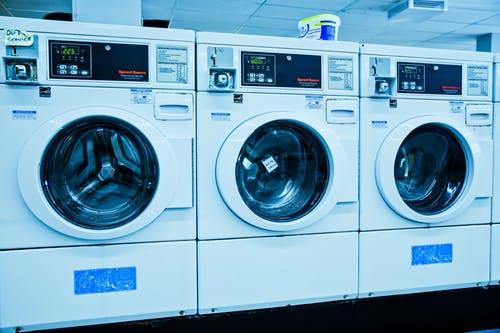 White Front Load Washing Machines