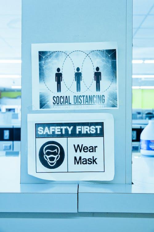 advertencia, Consejo, distancia social