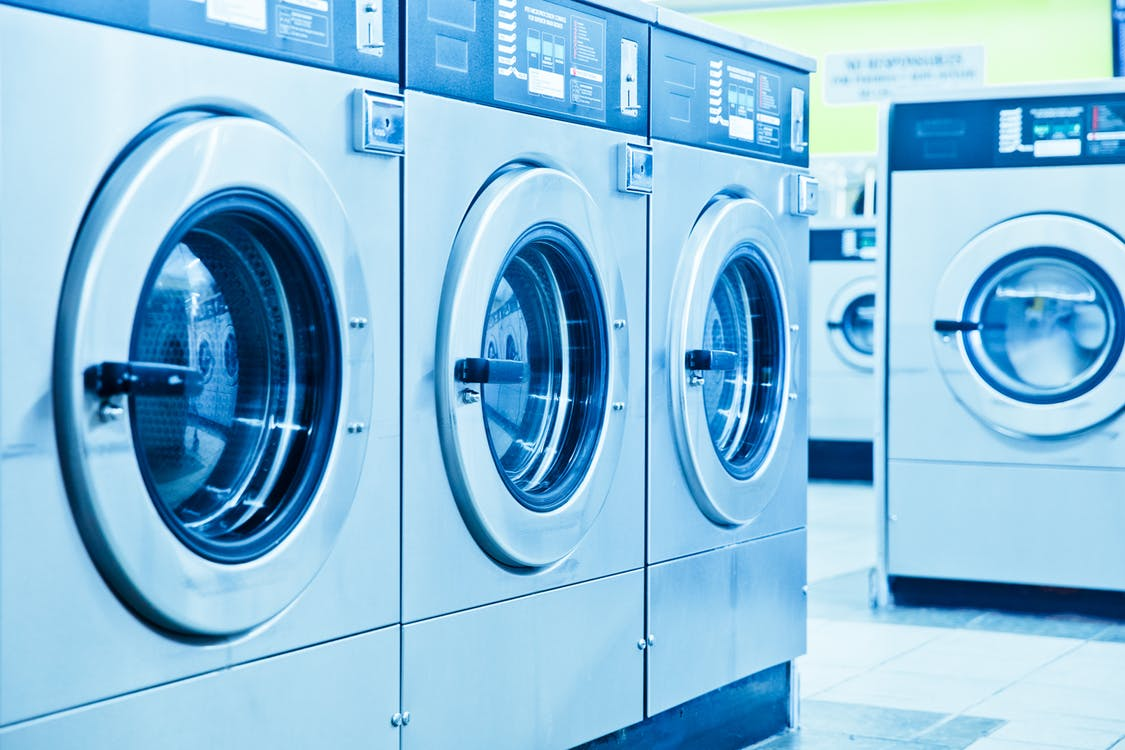 Gray Front Load Washing Machines