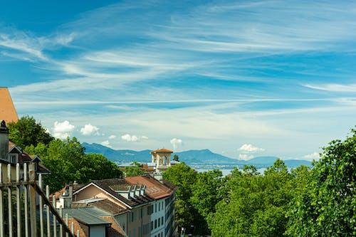 Gratis stockfoto met blikveld, horizon, plaats, stad
