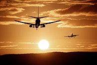 flight, dawn, sky