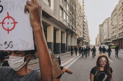 Foto profissional grátis de ambiente urbano, ativismo, brasil