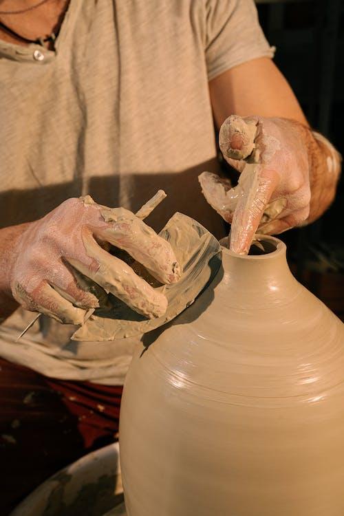 Foto d'estoc gratuïta de afició, argila, art, Art i manualitats