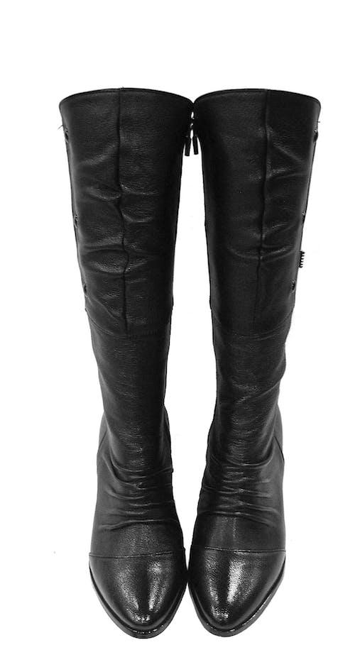 Gratis lagerfoto af fodtøj, læder, mode, sort