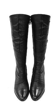 Free stock photo of fashion, shoes, black, leather