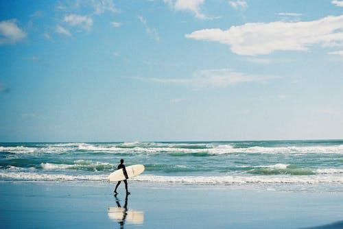 35毫米胶片, 假期, 在海洋的人 的 免费素材图片