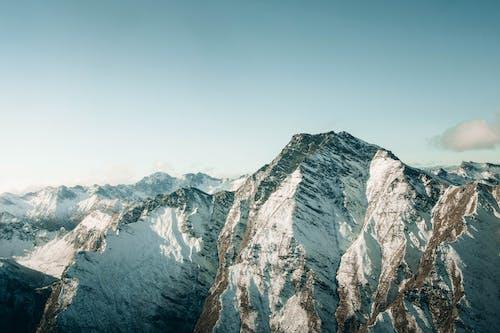 Immagine gratuita di aeroplano, alpinismo, altitudine