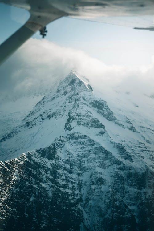 Immagine gratuita di acqua, aeroplano, alto
